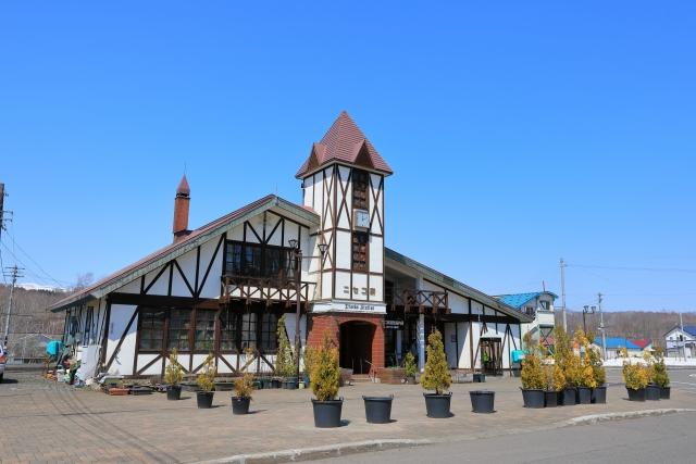 夏のニセコ旅行 ニセコ駅 ニセコビュープラザ
