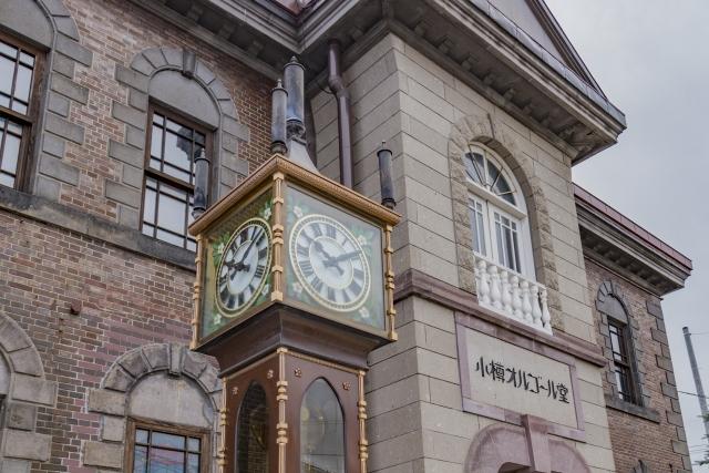 小樽駅 徒歩 観光 オルゴール堂 小樽運河